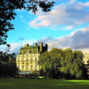 The Ritz London, view of Green Park, luxury hotel, London luxury