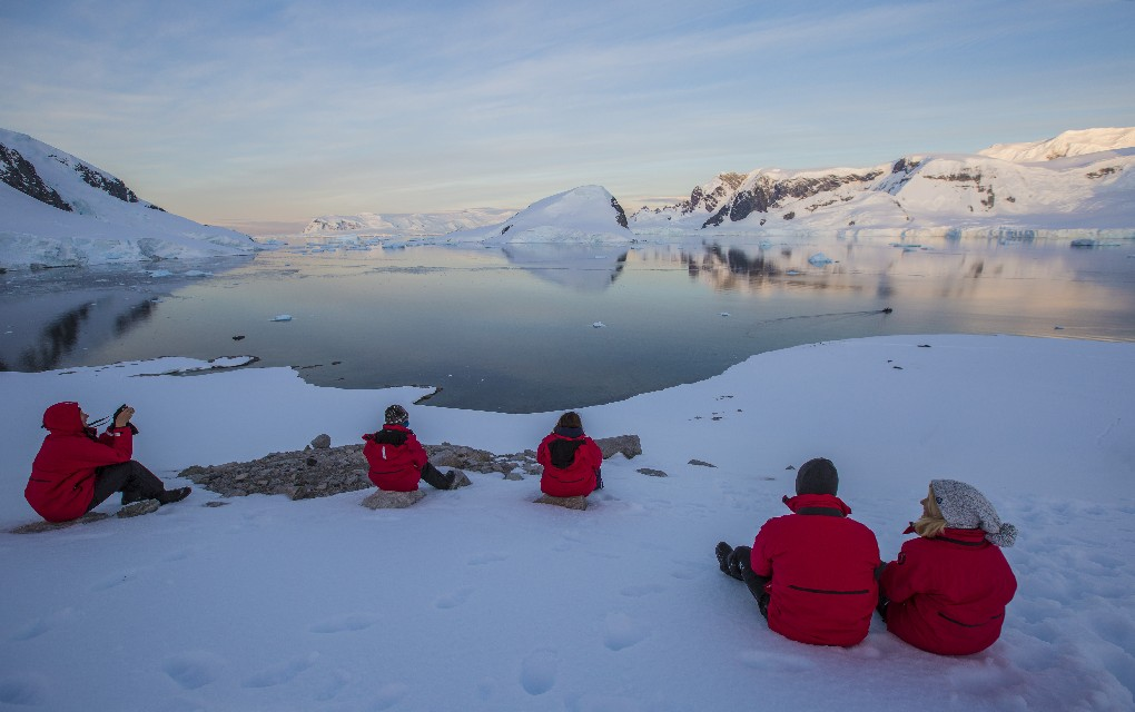 Antarctica, Wildfoot Travel, white wedding, penguins, icebergs