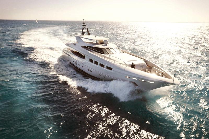 Infinity Pacific, superyacht, Sydney Harbour, luxury cruiser, Peter Kuruvita