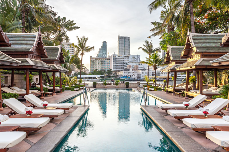 Peninsula Hotel Bangkok, luxury hotels in Bangkok, Thailand, Peninsula hotels