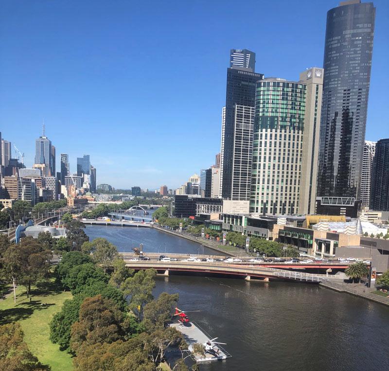 Melbourne, Yarra, Southbank, Crowne Plaza Melbourne