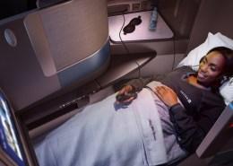 Business class, United Airlines, Polaris