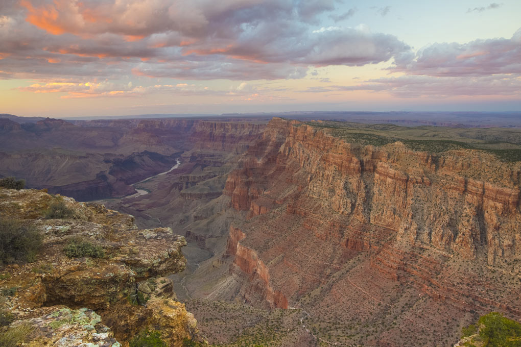 Grand Canyon National Park, Arizona, Grand Canyon at sunset