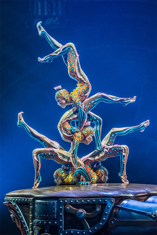 Contortion, Kurios, Cirque du Soleil, Sydney