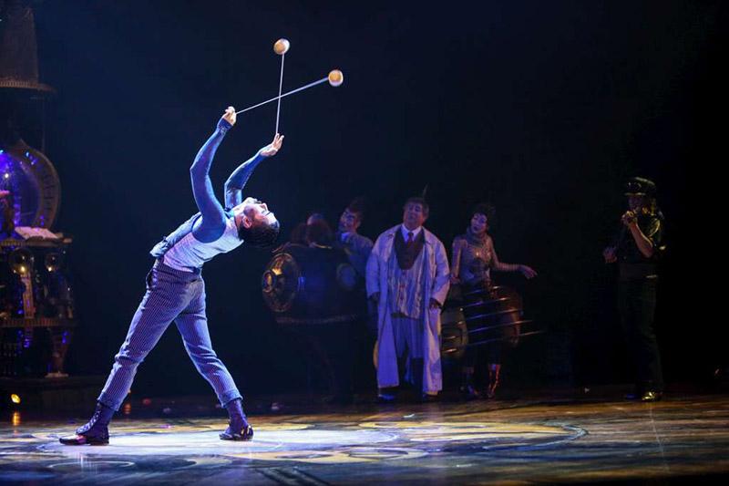 Yo Yos, Kurios, Cirque du Soleil, Sydney