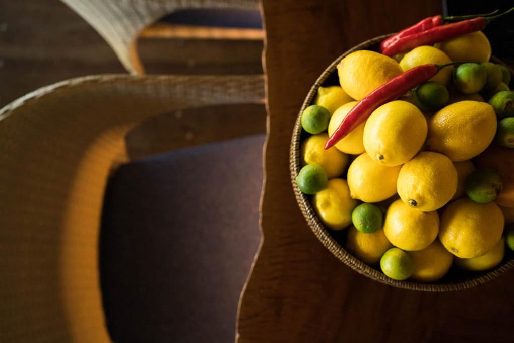 Lemon face mask recipe, Bawah Reserve, Asia spa, eco reserve, spa recipe