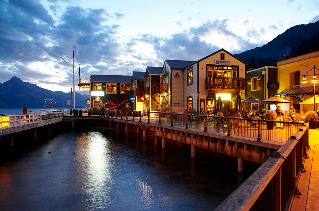 Steamer Wharf, Queenstown, Pure New Zealand, The Rees, Lake Wakatipu