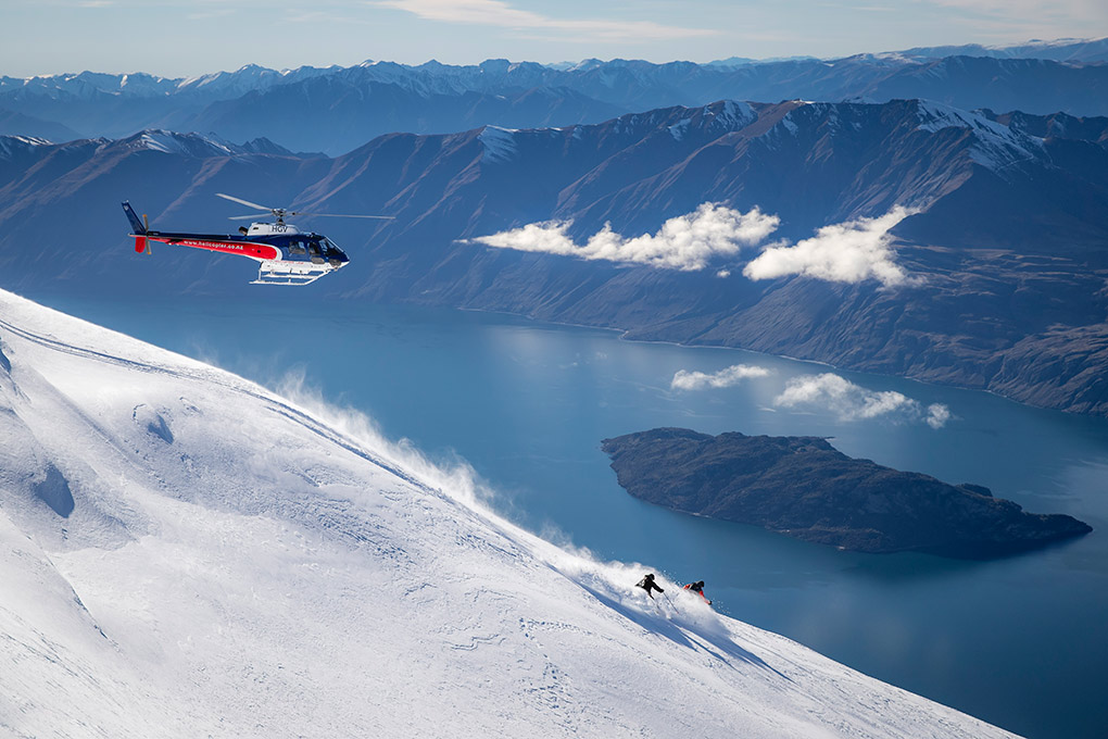 The Rees, Queenstown, Heli-skiing, New Zealand, Pure New Zealand