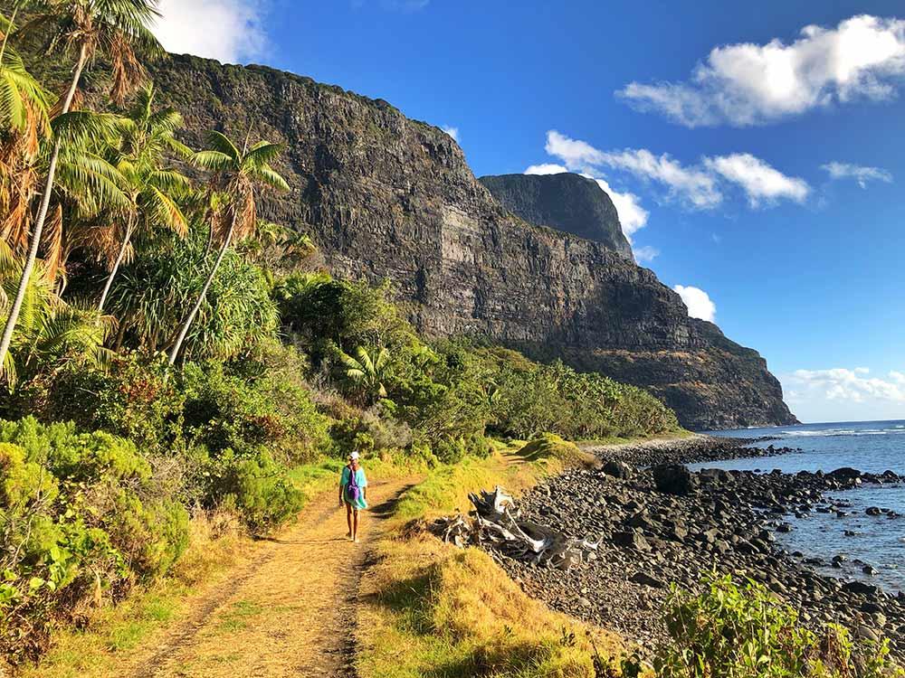 Little island walk, Seven Peaks, Lord Howe Island, Pinetrees Lodge
