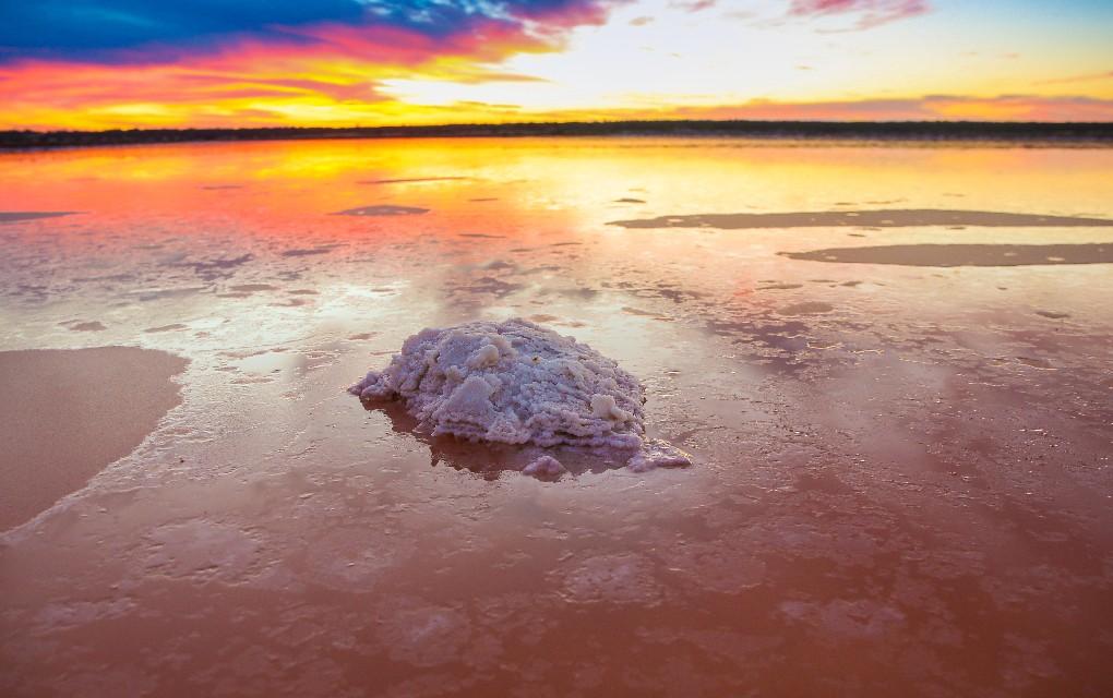 Mildura, Victoria, salt flat