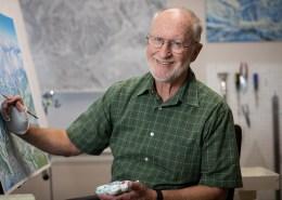 James Niehues, trail maps, ski resort, Man Behind the Maps, art, artist