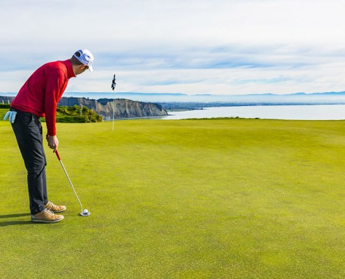 Cape Kidnappers golf, New Zealand