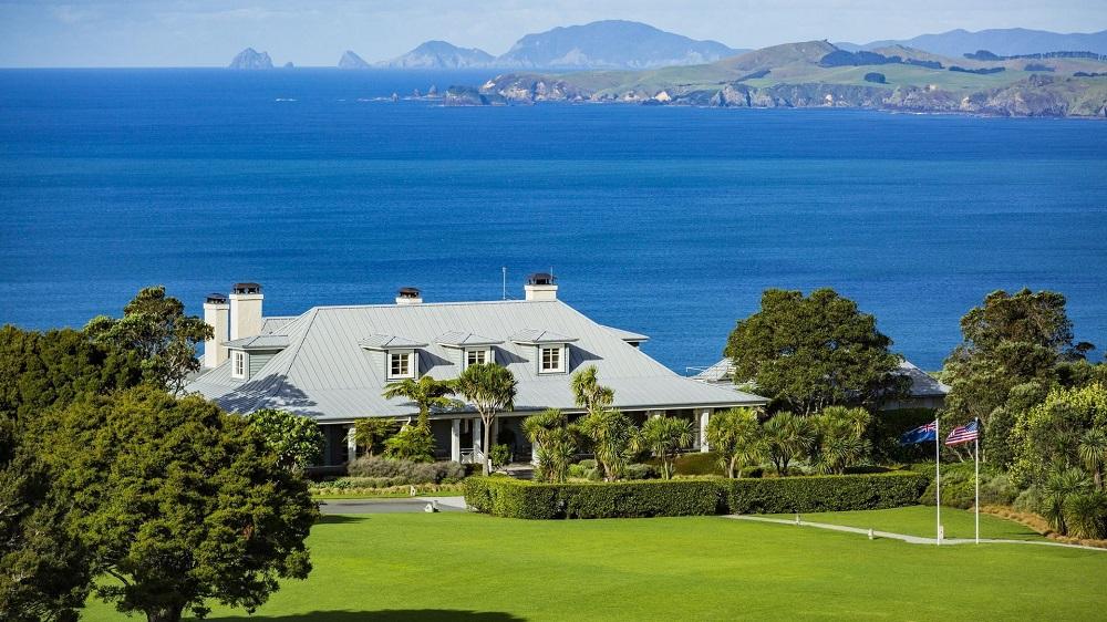 Kauri Cliffs, New Zealand, golf resort, luxury lodges