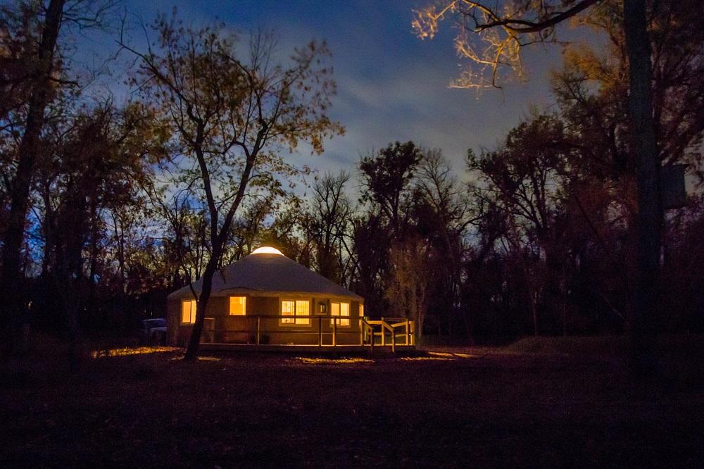 Yurt, North Dakota