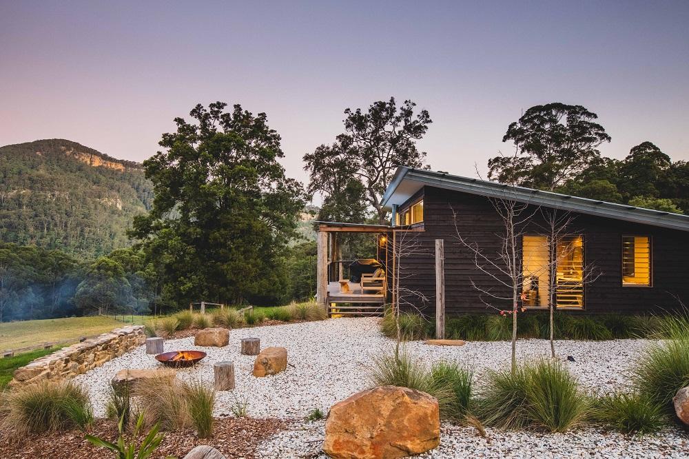 Barranca, Kangaroo Valley, romantic stay NSW, Love NSW