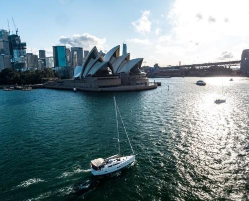 Sydney by Sail, romantic sail, Valentine's Day, Sydney Harbour