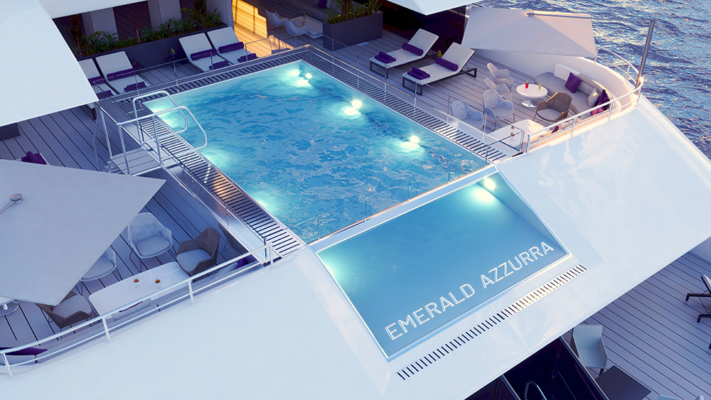 Emerald Cruises, Emerald Azzurra, river cruising, superyachts, sailing