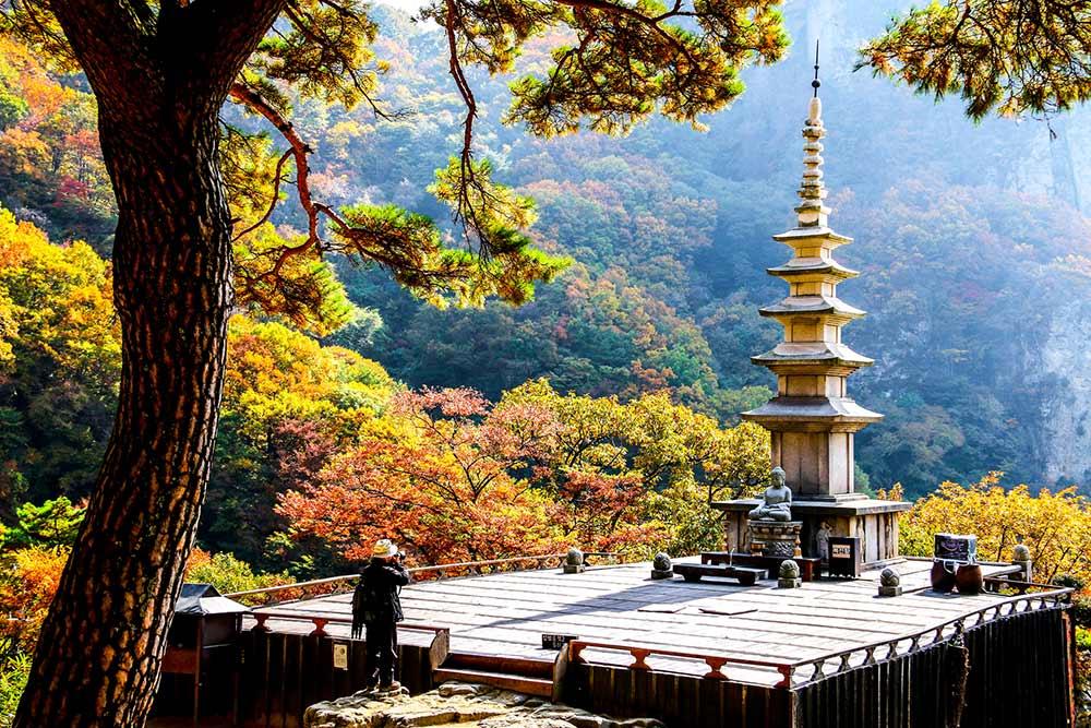 Cheongnyangsa Temple, South Korea, Asian temples, Korean temples