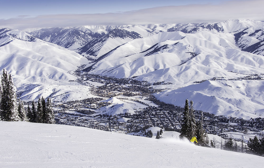Sun Valley, Idaho, Bald Mountain