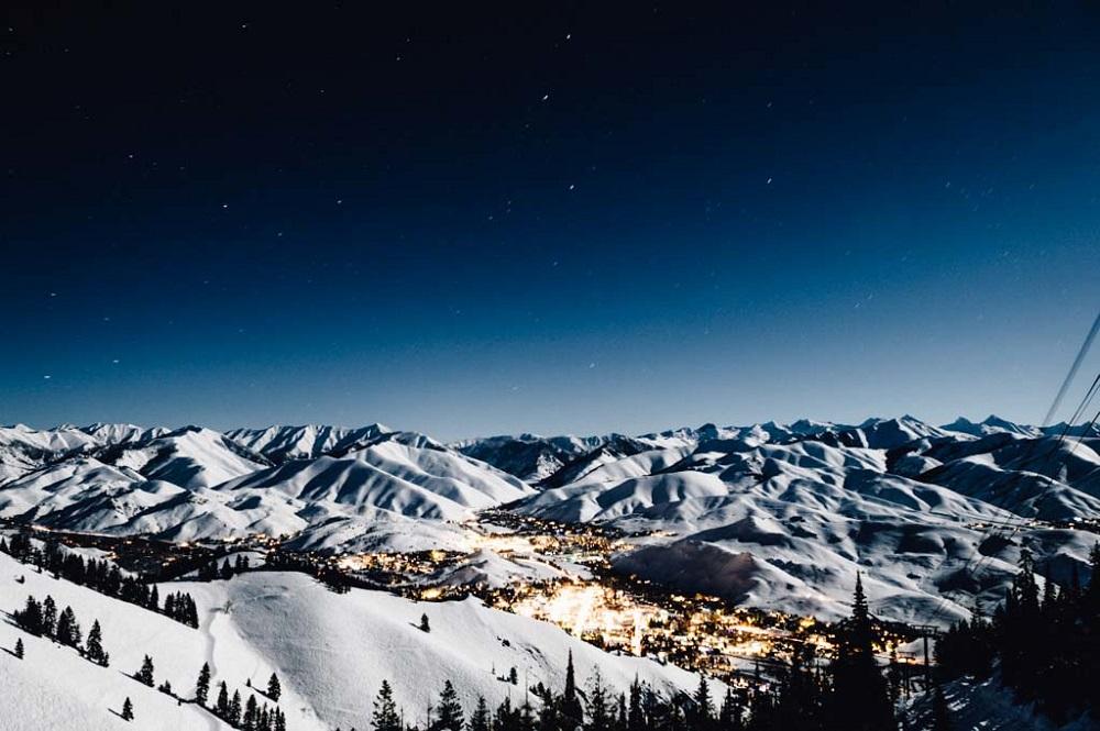 Sun Valley, Idaho, luxury ski resort