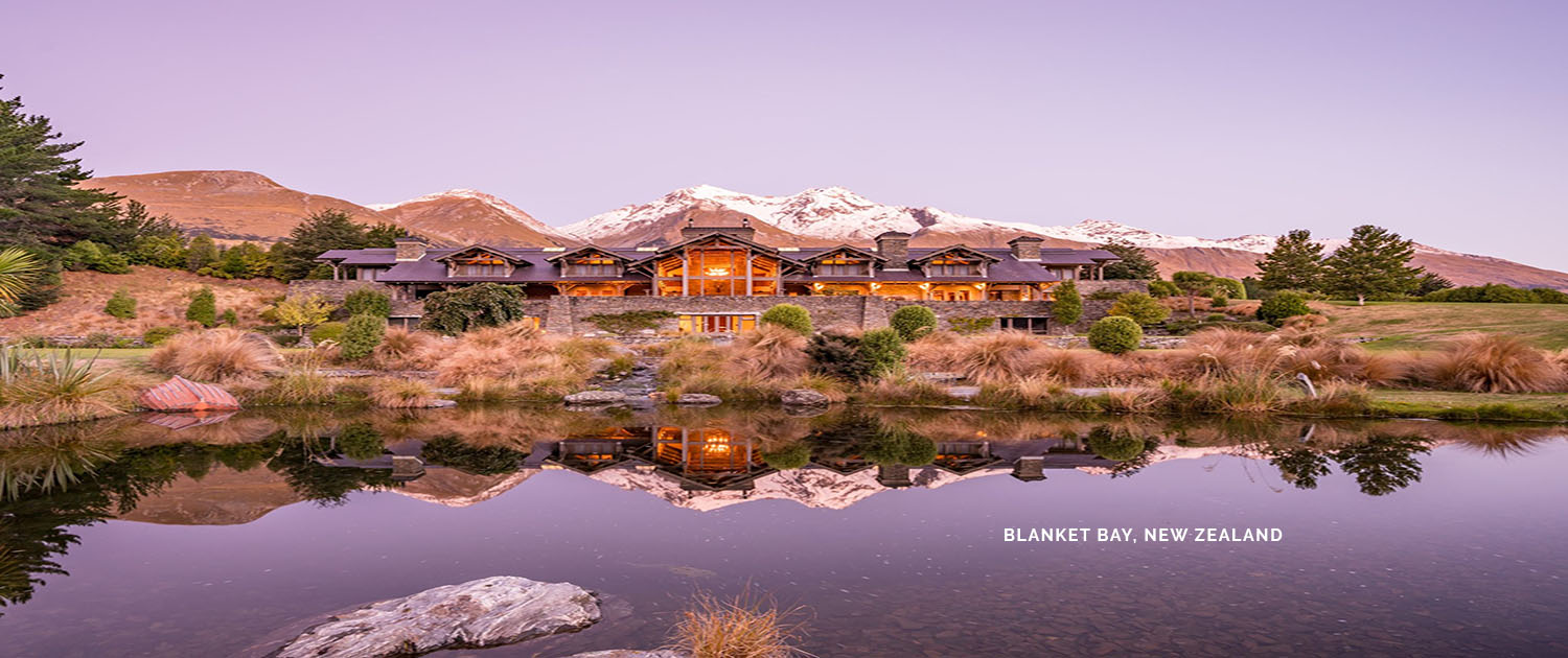 Blanket Bay, New Zealand, Glenorchy, luxury lodge