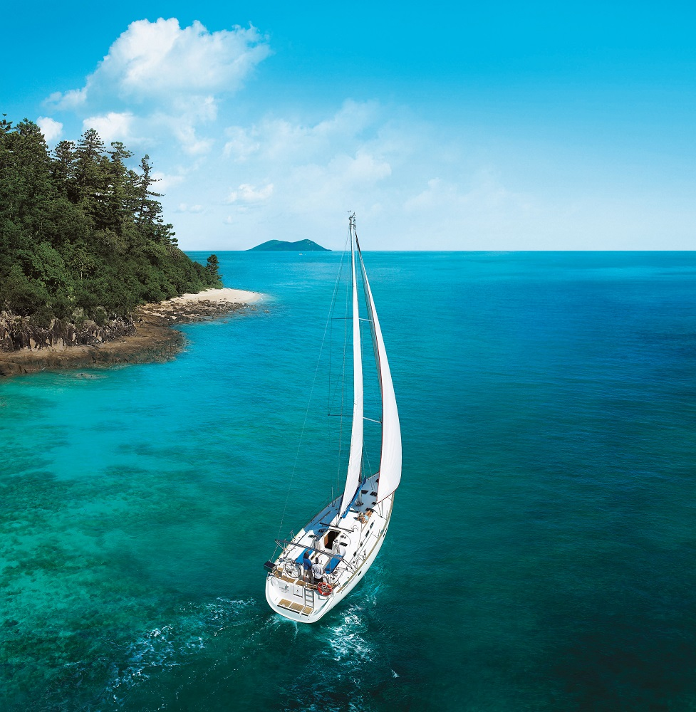Sailing, yacht charter, Great Barrier Reef, Whitsundays