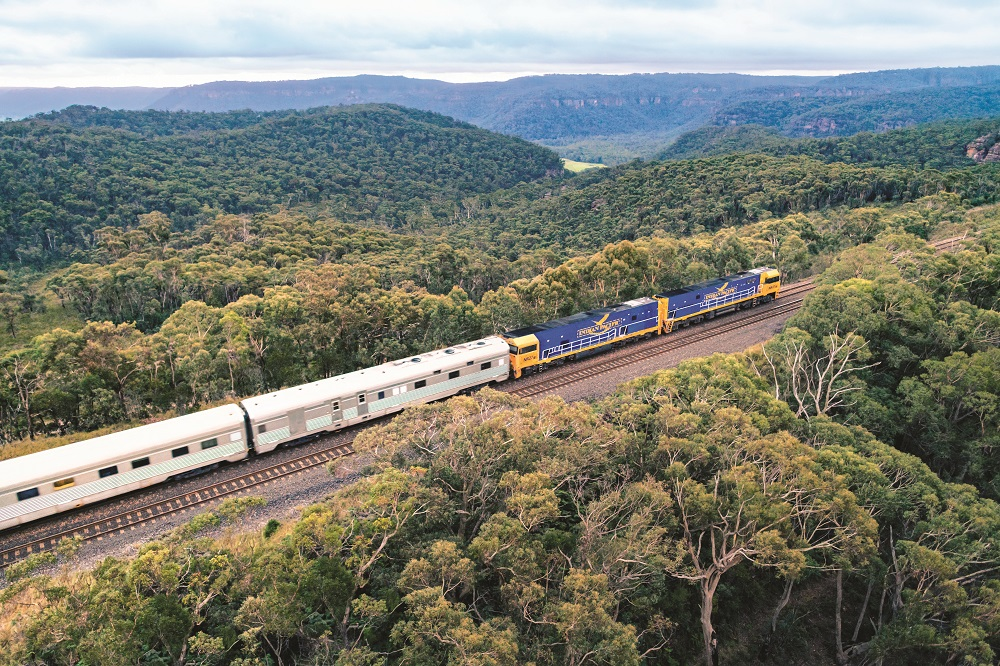Blue Mountains, Indian Pacific, Journey Beyond, rail journeys