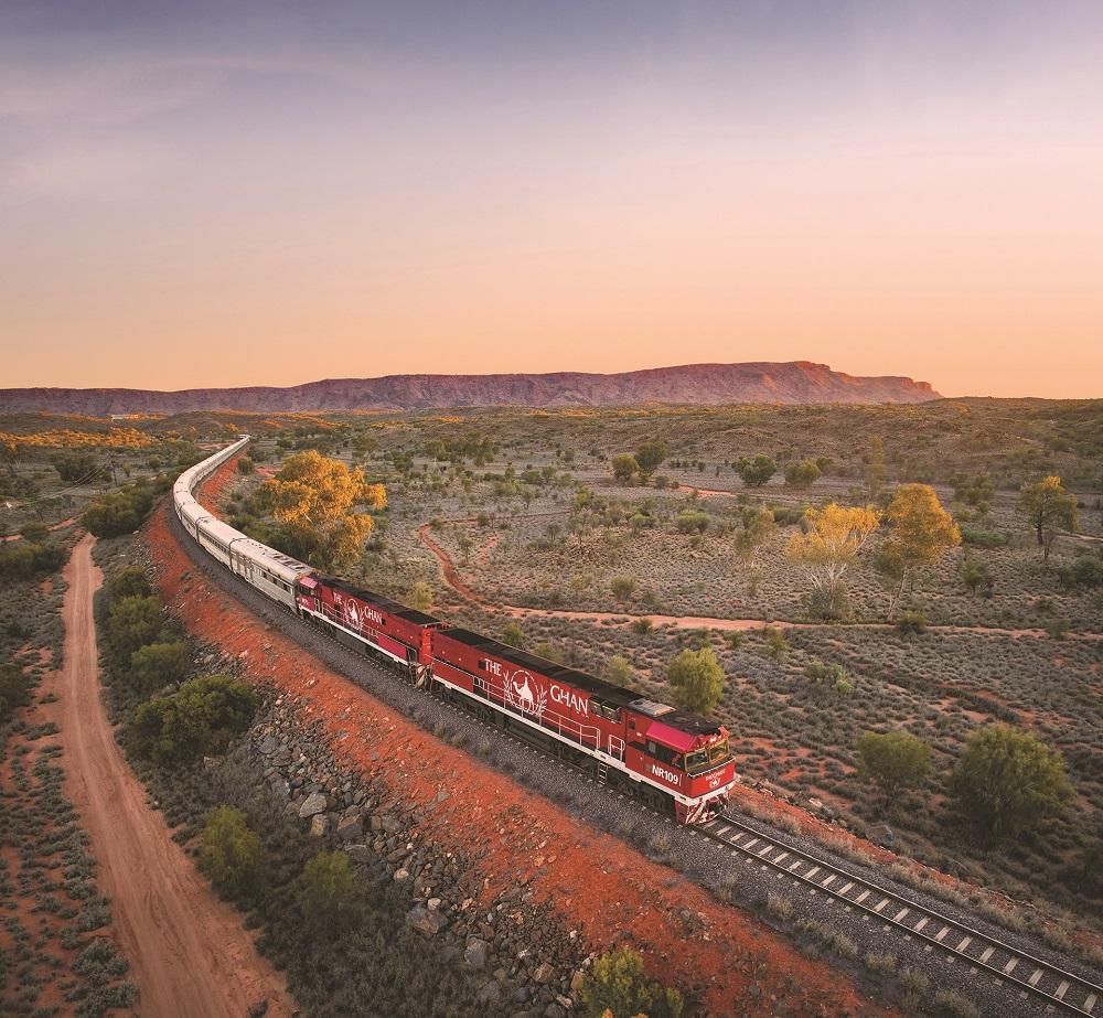 Journey Beyond, The Ghan, Alice Springs