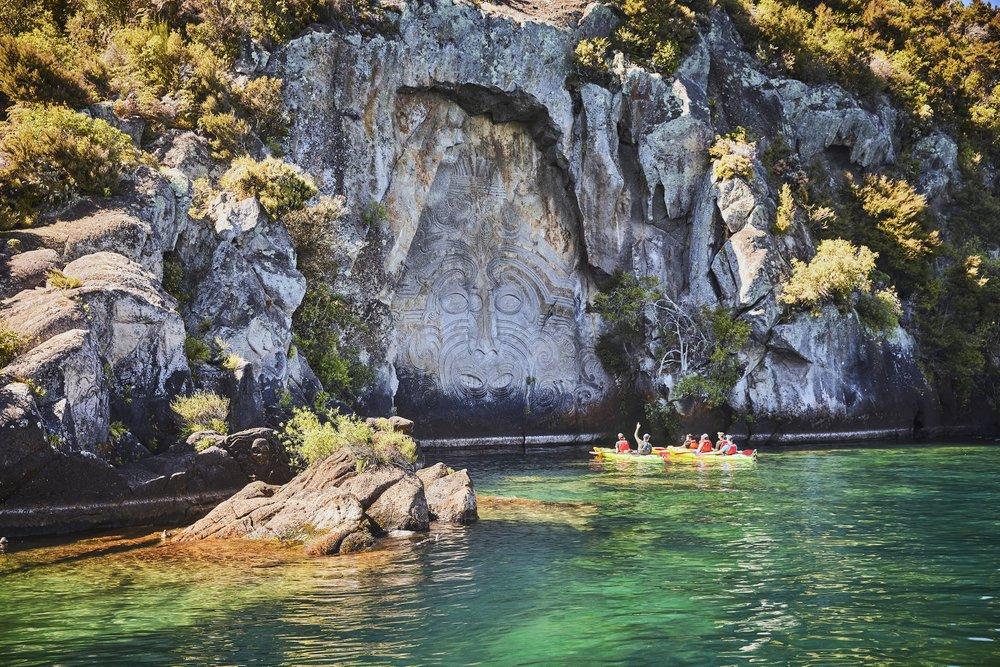 Taupo, New Zealand, Mine Bay