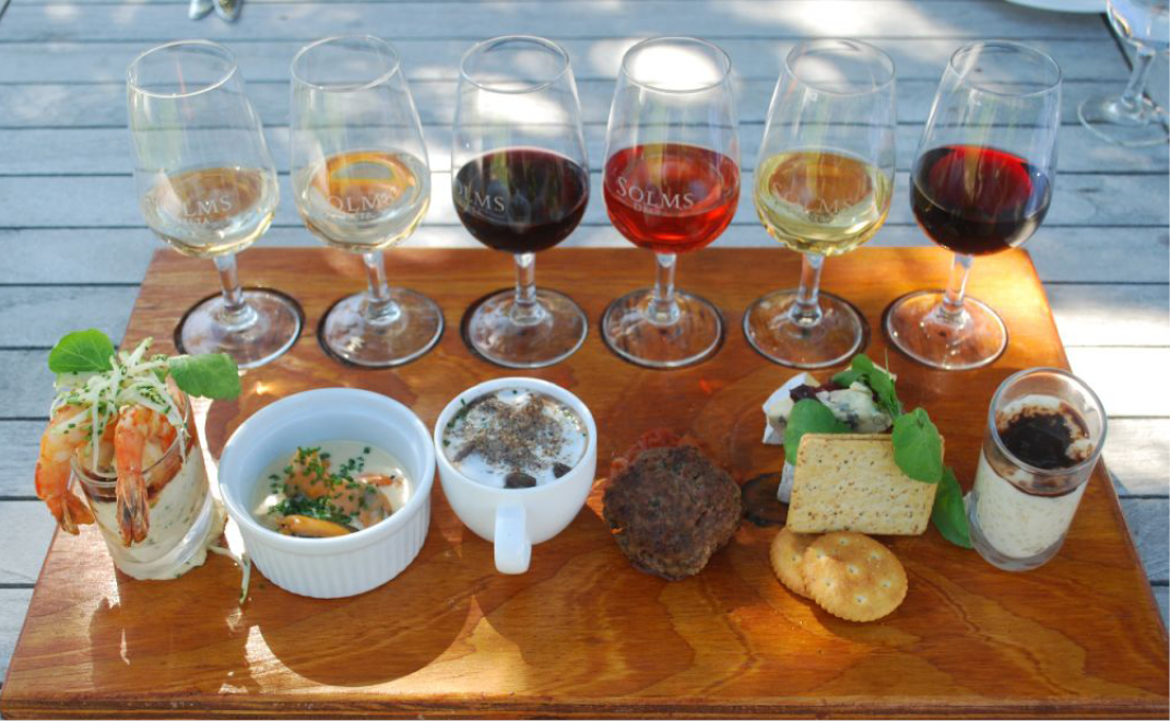 different types of wine and how to pair them with food