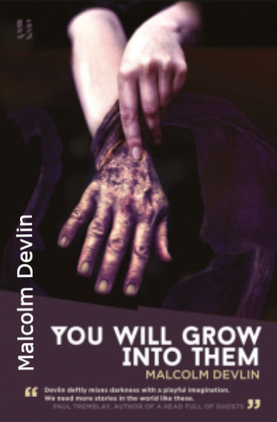 You will grow into them - by Malcolm Devlin - available on Amazon