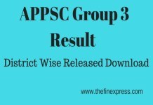APPSC Group 3 Mains Results declared, Download Cutoff District Wise expected Scores