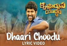 Nani Krishnarjuna Yuddham Movie Song Dhaari Choodu Released