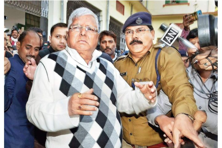 Fodder scam case: Lalu Prasad Yadav gets jail term of 3.5 years