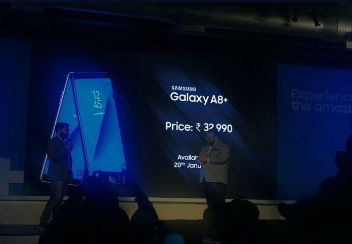 Samsung Galaxy A8+ (2018) launched in India Today, Know Specifications, Features