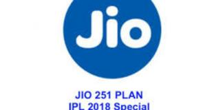 Jio IPL 2018 Cricket Season Pack Plan of Rs 251 Offers 102 GB of 4G data
