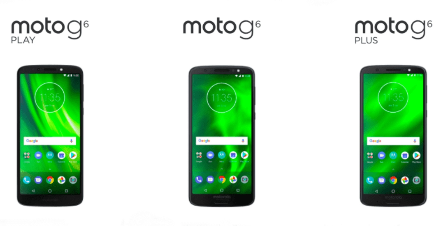 Moto E5 E5 Plus G6 G6 Plus G6 Play announced Know Specifications Features