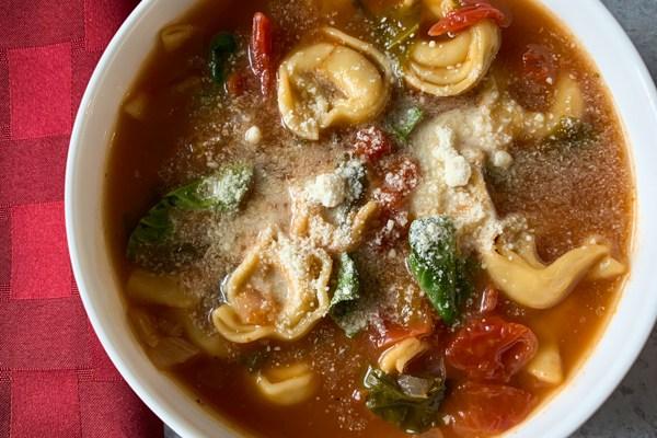 Tortellini Soup