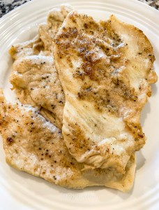 Chicken Piccata Browned