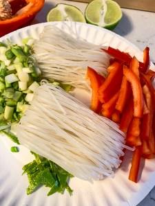 Lemongrass Shrimp Soup Ingredients