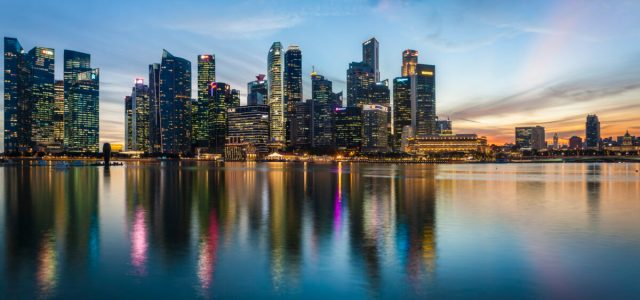 Singapore is a major financial services and tech hub