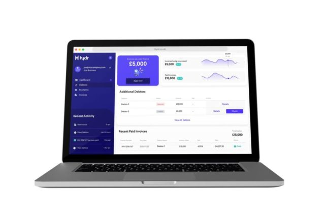 Hydr is a proprietary invoice finance platform