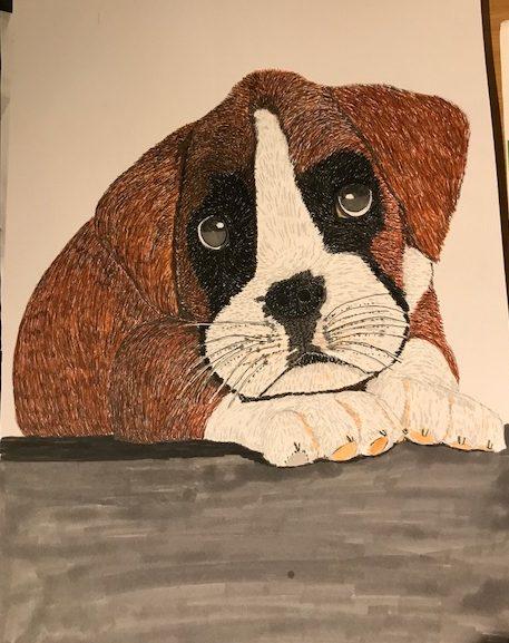 Puppy by Vanessa Hicks