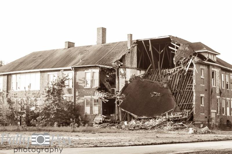 Crumbling by Patty Croom