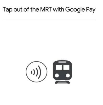 Google Pay MRT