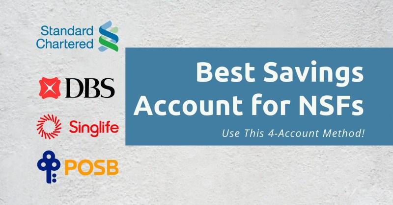 Best Savings Accounts NSF Header