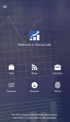 StocksCafe App