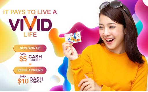 Vivid Account Sign Up Referral Bonus