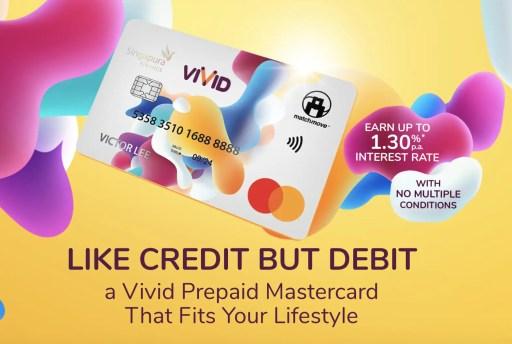 Vivid Prepaid Mastercard