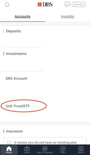 DBS Invest Saver Change Dividend Credit App 1